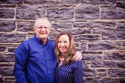 Kobus and Danita Steyn and the United Dental team